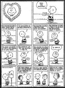 San Valentino Charlie Brown