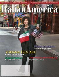 Author Adriana Trigiani on the cover of Fall 2012 Issue of Italian America.