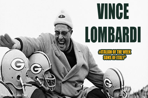 Vince Lombardi Being Carried Off the Field