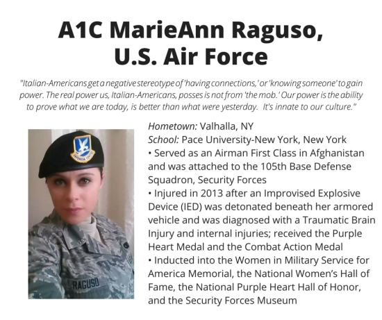 A1C Marieann Raguso, U.S. Air Force