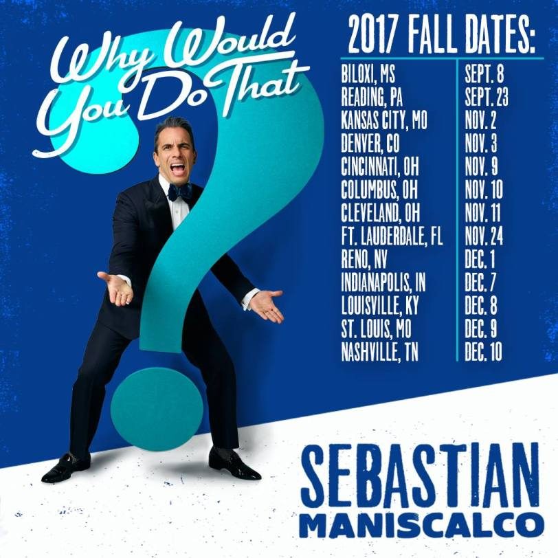 Piacere! An Interview with Comedian Sebastian Maniscalco